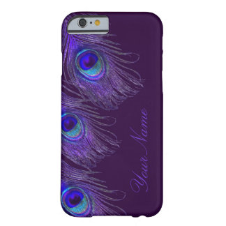 purple peacock iPhone 6 case Barely There iPhone 6 Case