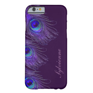purple peacock iPhone 6 case
