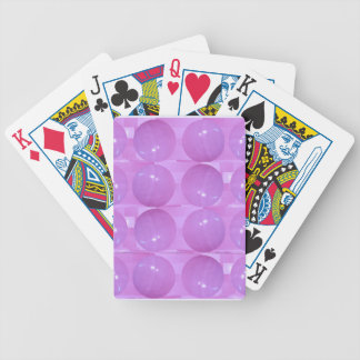 Purple Pearl Bubbles - Based on Lynx Stone Balls Bicycle Poker Deck