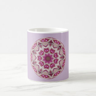 Purple Pearls Fractal Coffee Mug
