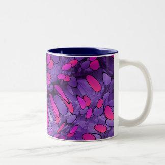 Purple Pebbles Mug
