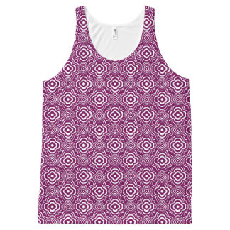 Purple Peddler All-Over Print Tank Top