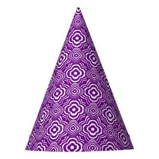 Purple Peddler Party Hat