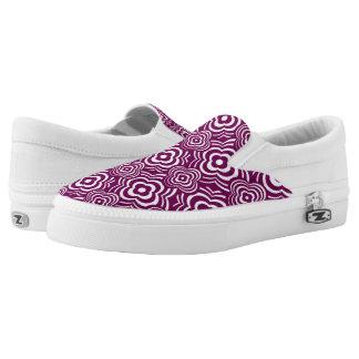 Purple Peddler Printed Shoes