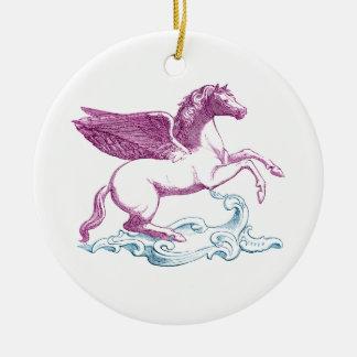 Purple Pegasus Ornament