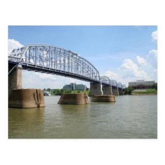 Purple People Bridge Postcard