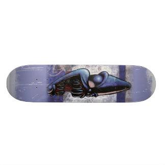 Purple People Eater 19.7 Cm Skateboard Deck