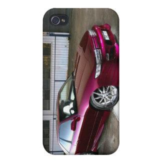 Purple people eater Silvia iPhone 4 Cases