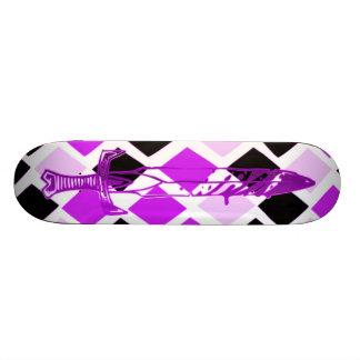 Purple People Eater Skateboard