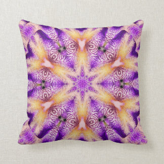 Purple people eater Throw pillow kiss me series