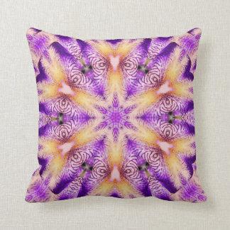 Purple people eater Throw pillow Throw Cushion