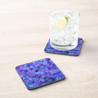 Purple Petals Coasters