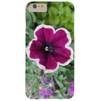 Purple Petunia Barely There iPhone 6 Plus Case
