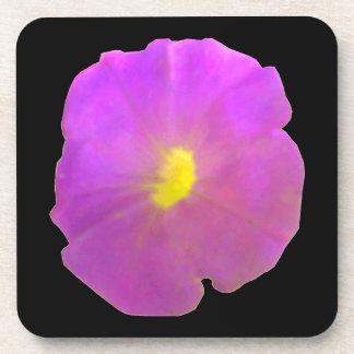 Purple Petunia Cork Coaster
