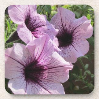 Purple Petunia Drink Coaster