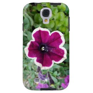 Purple Petunia Galaxy S4 Case