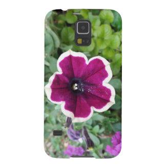 Purple Petunia Galaxy S5 Cases