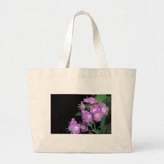 purple phacelia jumbo tote bag