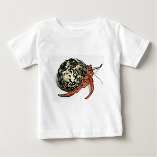 Purple Pincher Hermit Crab Design Baby T-Shirt