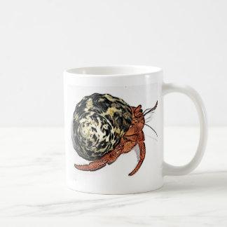 Purple Pincher Hermit Crab Design Coffee Mug
