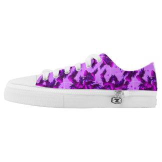 Purple Pineapple Low Tops