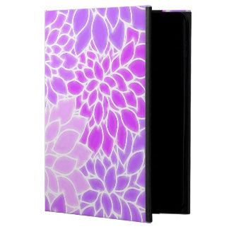 Purple Pink Abstract Flowers Powis iPad Air 2 Case