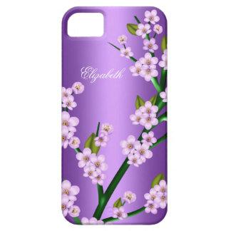 Purple Pink Blossom iPhone 5 Elegant Classy iPhone 5 Case