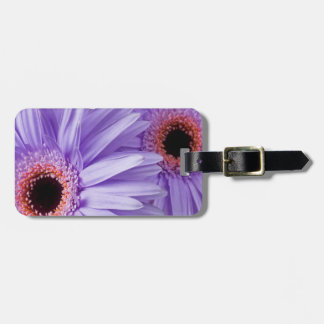 Purple Pink Daisy Customized Daisies Template Luggage Tag