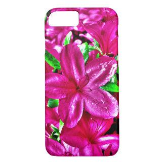 Purple Pink Floral iPhone 7 Case