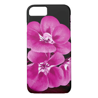 Purple Pink Floral iPhone 7 Case