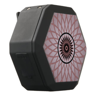 Purple Pink Geometric Flower Black Boombot Rex Bluetooth Speaker