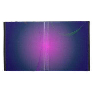 Purple Pink Moon in the Navy Sky iPad Folio Cover