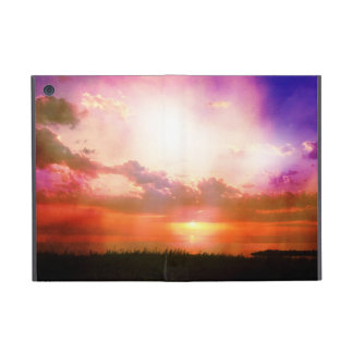 Purple Pink Orange Sunset Photo Edit Case For iPad Mini