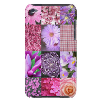 Purple / Pink Photo Collage iPod Touch Cover