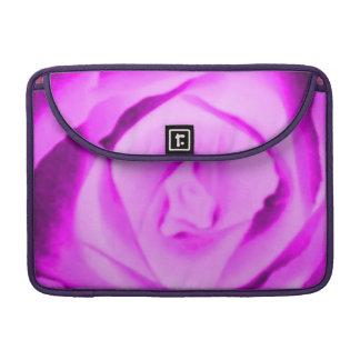 Purple Pink Rose Macbook Pro Flap Sleeve MacBook Pro Sleeve