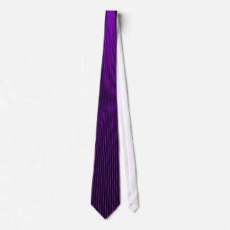 Purple Pinstripe Tie