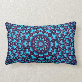 Purple Piper Kaleidoscope Pattern Lumbar Pillows