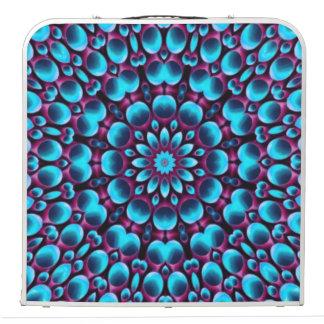 "Purple Piper  Vintage Kaleidoscope 48""  Pong Table"