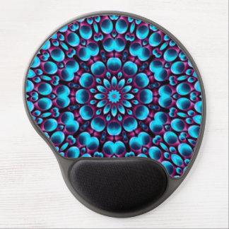 Purple Piper  Vintage Kaleidoscope  Gel Mousepad Gel Mouse Mat