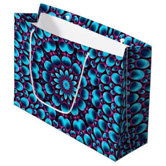 Purple Piper Vintage Kaleidoscope  Gift Bags