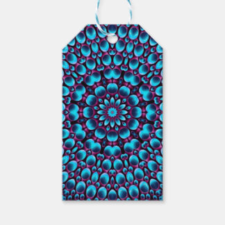 Purple Piper Vintage Kaleidoscope  Gift Tags