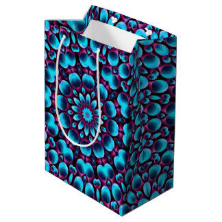 Purple Piper Vintage Kaleidoscope Medium Gift Bag