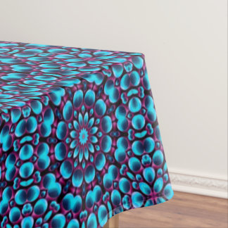 Purple Piper  Vintage Kaleidoscope Tablecloth