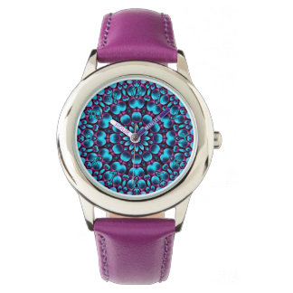 Purple Piper  Vintage Kids Watch