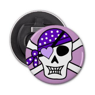 Purple Pirate Crossbones