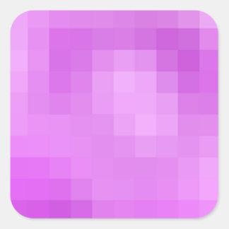 Purple Pixel Sticker