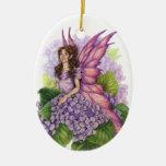 Purple Pixie Ornament
