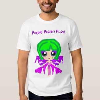 Purple Poison Pixie! T-shirts