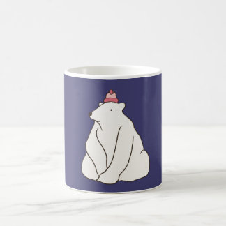 Purple Polar Bear Mug