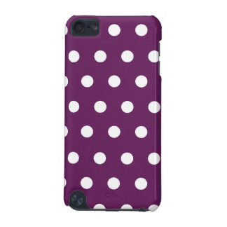 Purple Polka Dot iPod Touch (5th Generation) Cover